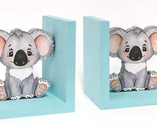 Koala Baby Bookend Pair
