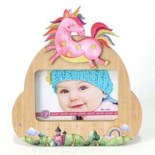 Flight Of Fancy Baby Frame 6x4 Unicorn