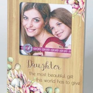 Bunch Of Joy Photo Frame 4x4in Daughter