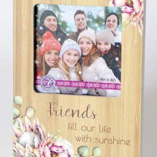 Bunch Of Joy Photo Frame 4x4in Friends