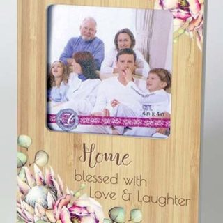 Bunch Of Joy Photo Frame 4x4in Home